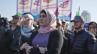 В День народного единства в Грозном