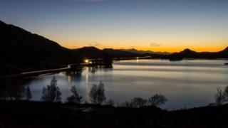 Loch Tarff, near Fort Augustus