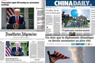 《巴黎氣候協議》未來時:美國退出之後