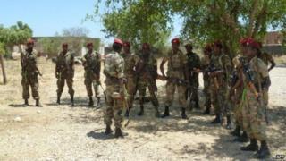 Wanajeshi wa Ethiopia wamedaiwa kuondoka katika kambi moja nchini Somalia