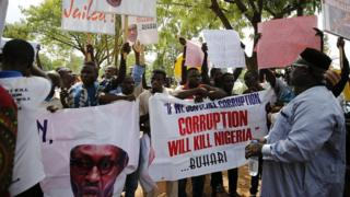 Nigeria anti-corruption march