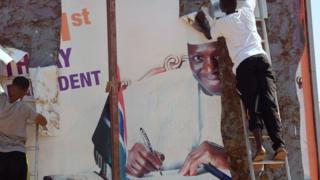 Madaxweyne Jammeh wuxuu dadka reer Gambia ku booriyay inay sugaan go'aanka maxkamadda sare