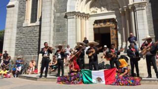 Mariachis en Barcelonnette