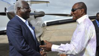 Presidents of Guinea and Sierra Leone