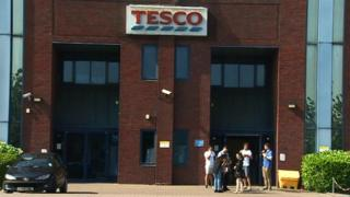 Tesco's customer engagement centre in Cardiff