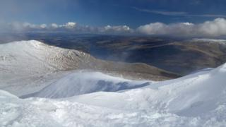 Loch Tay from Ben Lawers