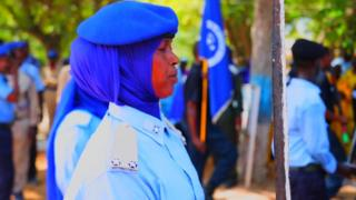 Said Mohammud, agent de police