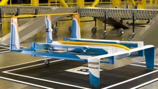 Amazon delivery drone