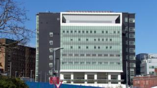 Critical care building