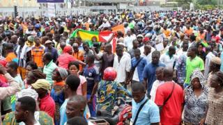 Manifestations de l'opposition au Togo