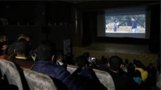 An shafe shekaru da dama ba bu gidajen kallo a Gaza
