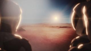 так художники представляют себе Марс