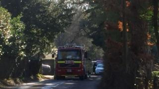 Fire truck in Henley