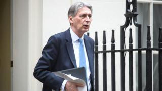 Chancellor of the Exchequer, Phillip Hammond