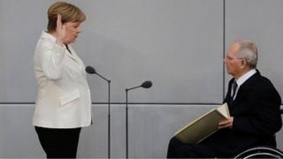 Angela Merkel nsebura nile asofin