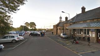 Inverurie railway station