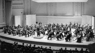 The closing concert of the 1982 US tour at Carnegie Hall in New York