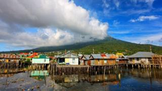 印度尼西亞的特內特島