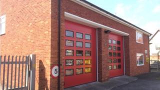 Pangbourne fire station