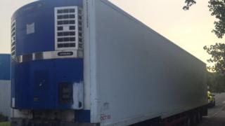 Stolen trailer found