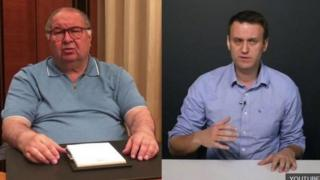 Усманов і Навальний