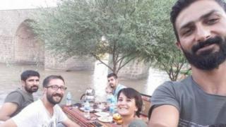 Hasan Akbaş Serpil Berk ve Fırat Topal ile serbest gazeteci Sertaç Kayar