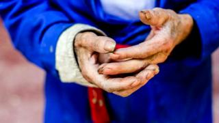 Руки Гальего