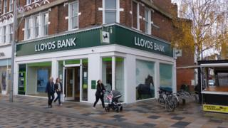 Lloyds Bank branch