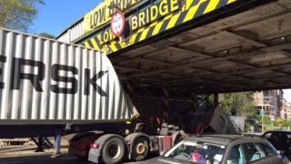 Lorry crash