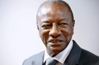 Hogaamiyaha ururka Midawga Afrika Alpha Conde