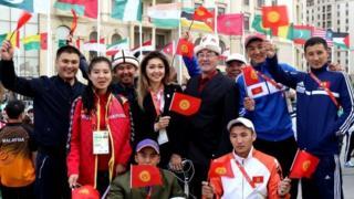 Бакудагы кыргыз спортчулары