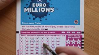 Euromillions ticket