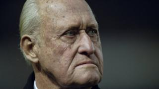 Бывший президент ФИФА Жоао Авеланж