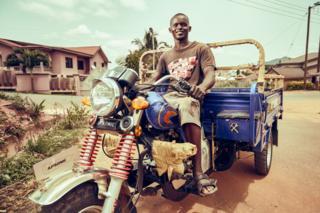 David,mai kaya a Kumasi