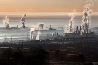 Deeside power station, Shotton Steelworks