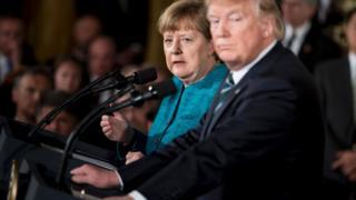 Ангела Меркель і Дональд Трамп провели переговори у Вашингтоні