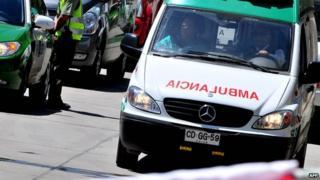 Chilean ambulance