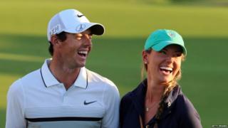 Rory McIlroy and his fiancée Erica Stoll