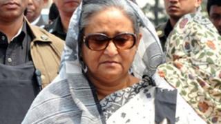 رئيسة الوزراء البنغالية الشيخة حسينة