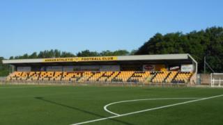 Annan Athletic Football Club ground