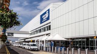 Glasgow Airport terminal