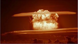 Bomb test