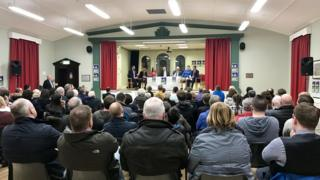 The Ballyclare hustings