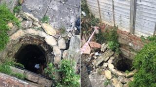 Photos of well