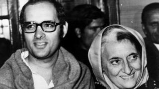 संजय और इंदिरा गांधी