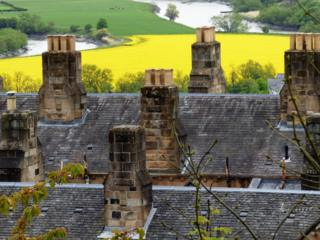 Rooftops in Stirling