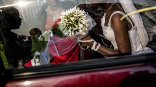 File image of wedding in 2015 in 2015 in Bujumbura