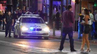 Police car in Broad Street