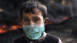 Niño en Qayyarah