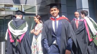 Arpan Doshi graduating ceremony
